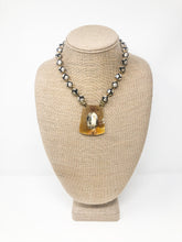 Nalani Agate & Buffalo Horn Necklace