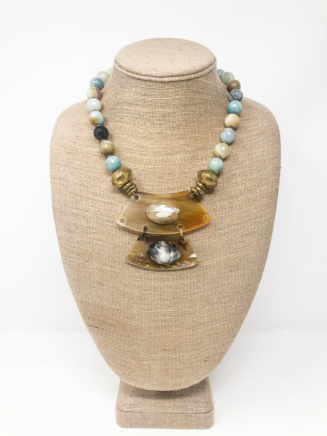 Karina Buffalo Horn Necklace