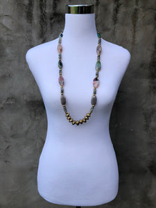 Multicolor Agate Necklace