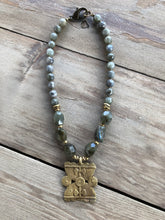 Labradorite Nugget Necklace