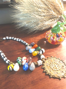 African Wedding Bead Necklace