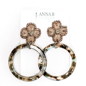Gabrielle Floral Earrings