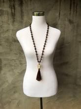 Antler Tassel Necklace