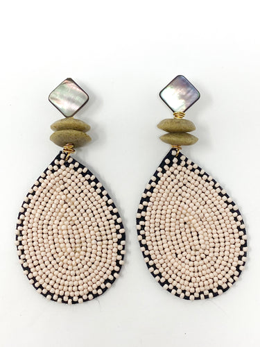 Elise Earrings | Blush