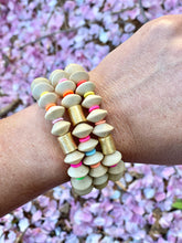 Wooden Stretch bracelet | Multicolor