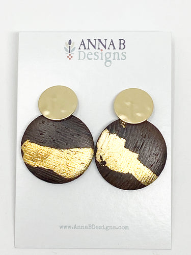 Maddie Wooden Earrings
