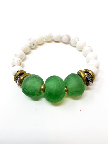 The Cooper Bracelet | Emerald Green