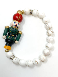 White Nutcracker Bracelet | 08