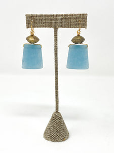Libba Beach Glass Earrings