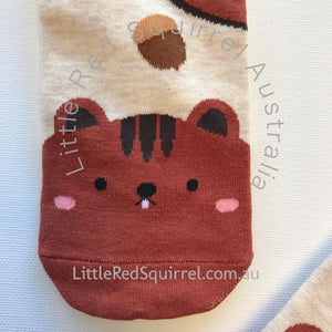 Cute squirrel socks