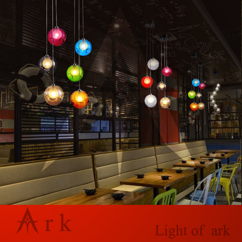 ARK LIGHT - Vintage 3 Bubble Ball Pendant - 120V LED