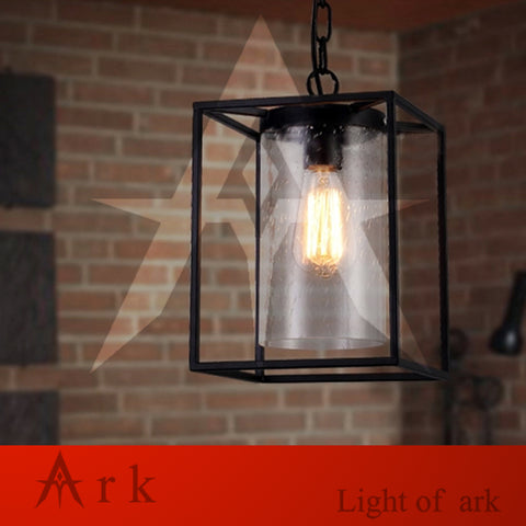ARK LIGHT - Art Deco Vintage Indoor/Outdoor Pendant - 120V E27