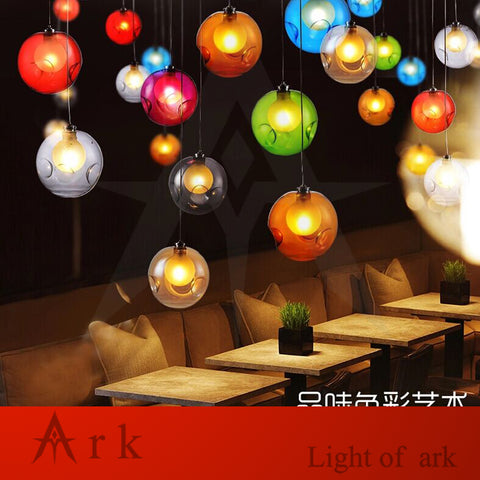 ARK LIGHT - Vintage 1 Bubble Ball Pendant - 120V LED