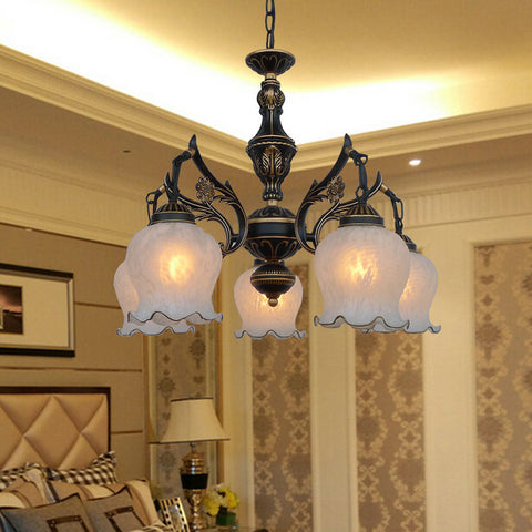 HG HOME ART - Traditional Nordic Chandelier - 120V LED