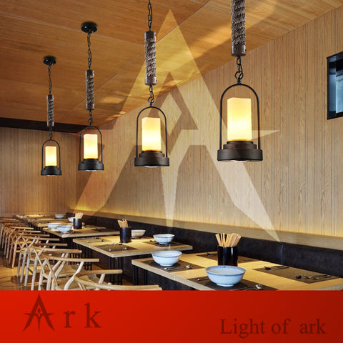 ARK LIGHT - Loft Industrial Pendant - 120V E27