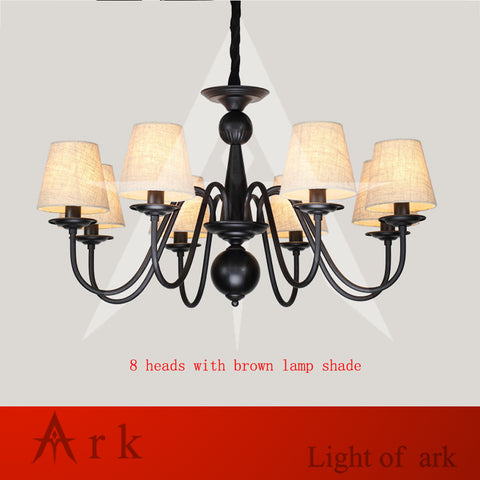ARK LIGHT - Nordic European-Style Chandelier - 120V E14