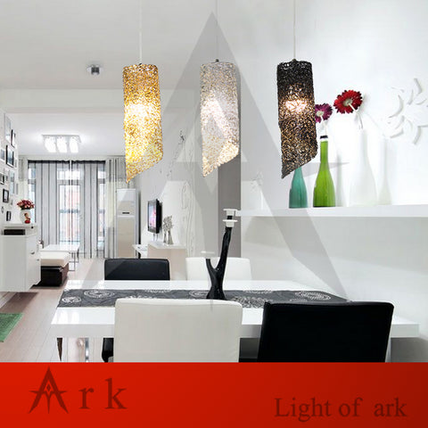 ARK LIGHT - Modern Aluminum Wire Pendant - 120V LED