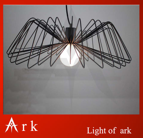 ARK LIGHT - Black Spider Pendant Lamp -120V E27