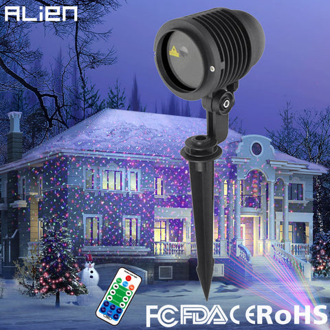 ALIEN - Outdoor Waterproof Christmas Laser Light Projector - 120V