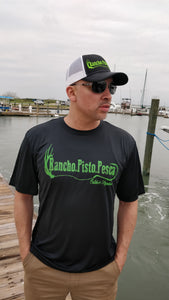 Iconic Black & Green Rancho.Pisto.Pesca