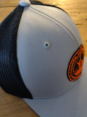 Light Grey/Black Orange Logo