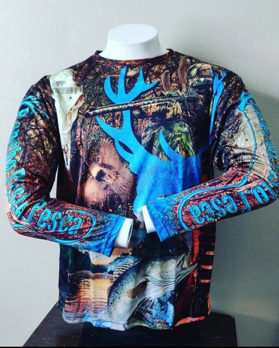 RPP Custom Camo Long Sleeve DriFit