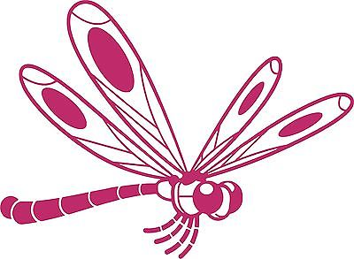 Dragonfly Butterfly Insect Wings Car Truck Window Laptop Vinyl Decal Sticker - 8""