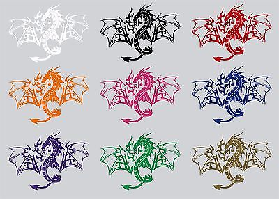 Dragon Mythology Mythical Creature Car Truck Window Laptop Vinyl Decal Sticker - 8""