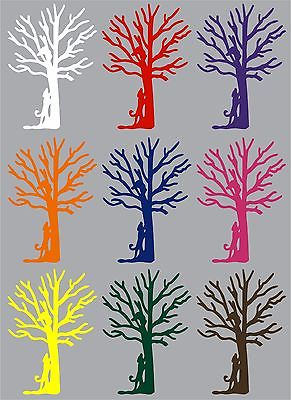 "Coon Hunter Walker Dog Hunting Tree Hound Car Truck Window Vinyl Decal Sticker - 8"" Long Edge"