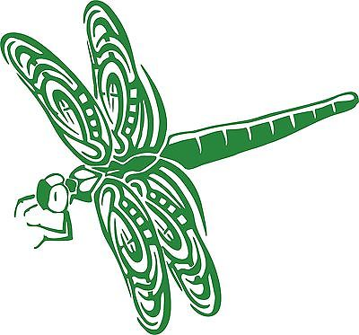 Dragonfly Dragon Fly Insect Wings Car Truck Window Laptop Vinyl Decal Sticker - 8""
