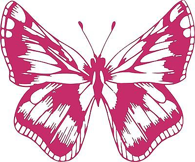 "Butterfly Bug Insect Animal Car Truck Window Vinyl Decal Sticker - 8"" Long Edge"