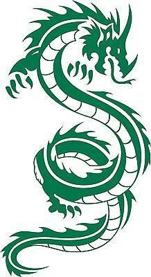 "Dragon Mythical Creature Beast Car Truck Window Laptop Vinyl Decal Sticker - 5.5"" x 10"""