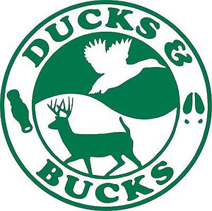 Duck Buck Hunting Hunter Gun Car Truck Window Wall Laptop Vinyl Decal Sticker - 11""