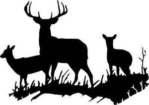 Deer Huntig Wall Art Home Decor Mural Vinyl Decal