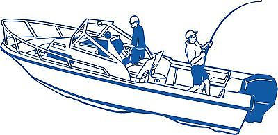 Fish Fishing Speed Water Boat Car Truck Window Wall Laptop Vinyl Decal Sticker - 11""