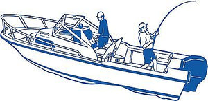 Fish Fishing Speed Water Boat Car Truck Window Wall Laptop Vinyl Decal Sticker - 5""