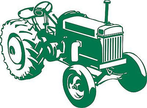 Farm Tractor Agriculture Vehicle Car Truck Window Laptop Vinyl Decal Sticker - 8""
