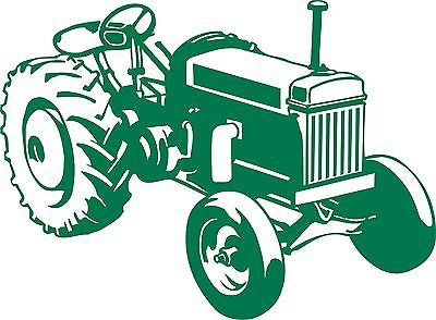 Farm Tractor Agriculture Vehicle Car Truck Window Laptop Vinyl Decal Sticker - 7""