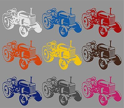 Farm Tractor Agriculture Vehicle Car Truck Window Laptop Vinyl Decal Sticker - 11""