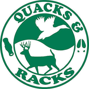 Ducks Bucks Hunting Gun Quack Rack Car Truck Window Laptop Vinyl Decal Sticker