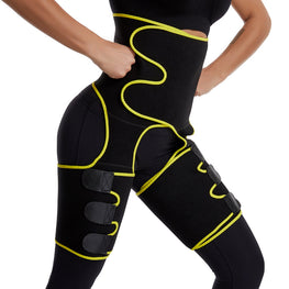 Neoprene High Waist Slim Thigh Trimmer Legs Shaper Control Butt Lifter
