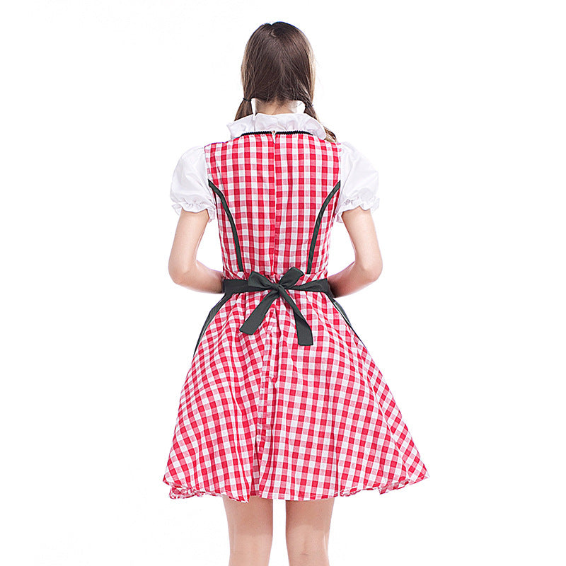 Women Oktoberfest Maid Costume Halloween Costume
