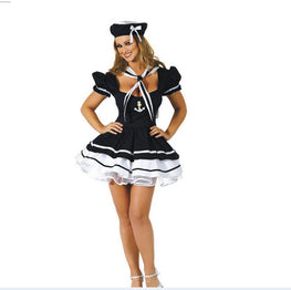 Sailor Girl Costume Seawoman Halloween Costume