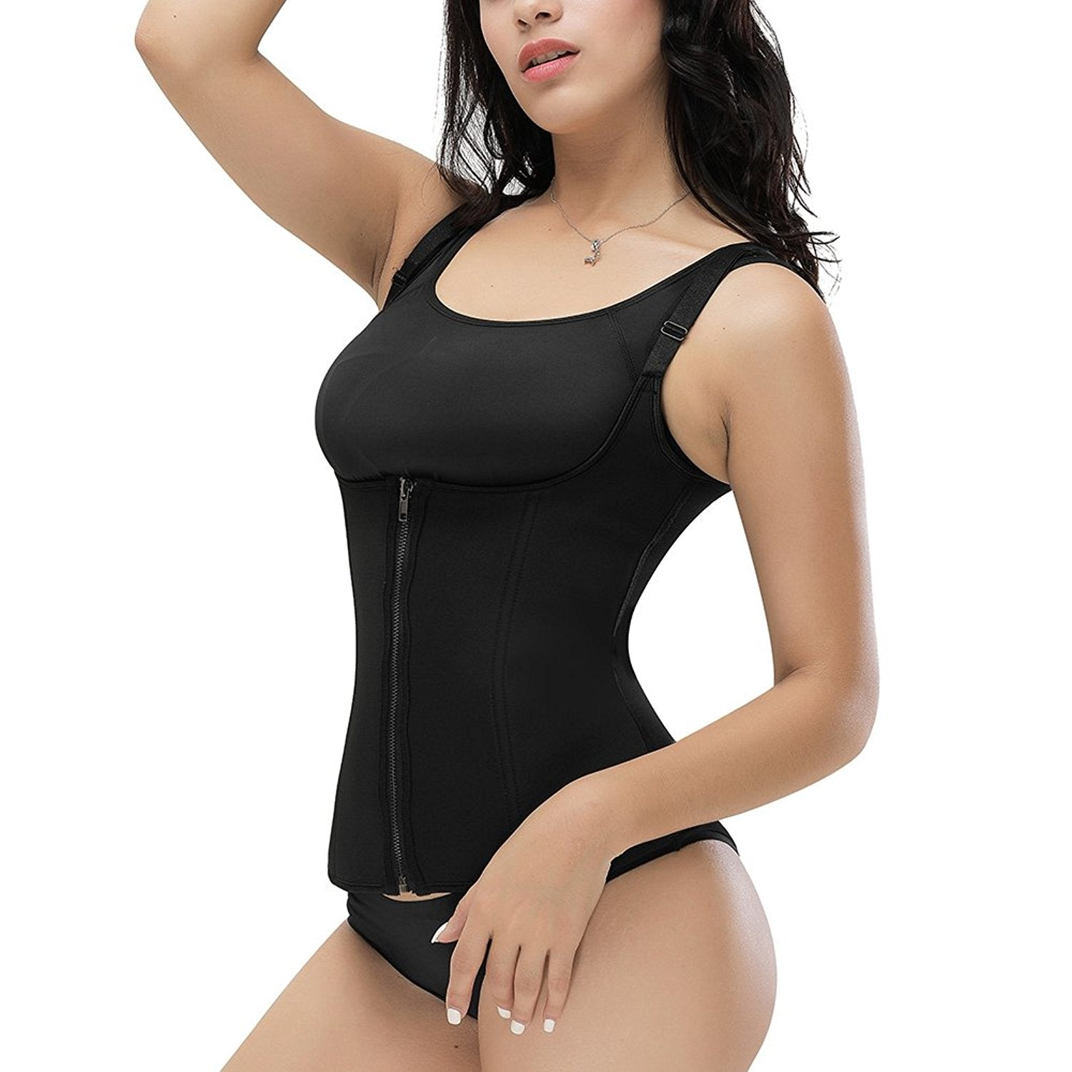 Sauna Workout Corset Waist Trainer Cincher Body Shaper