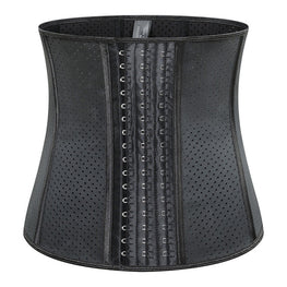 9 Steel Boned 11 Inches Sports Waist Shaper Breathable Latex Corset