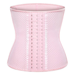 Summer Sport Breathable Latex Waist Trainer Corsets Body Shaper
