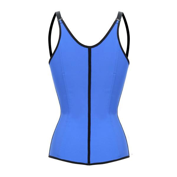 Waist Trainer Latex Shapewear Corset with Adjustable Straps Fajas Colombianas