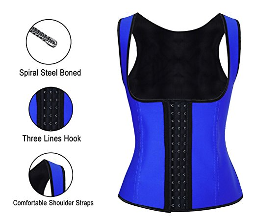 Latex Corset Steel Boned Women Body Shaper