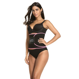 Latex Waist Trimmer for Women Stomach Wrap Slim Sweat Sport