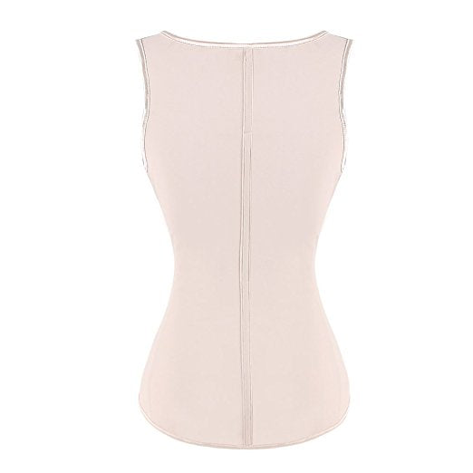 Women Latex Underbust Waist Trainer Cincher Shaping Corset